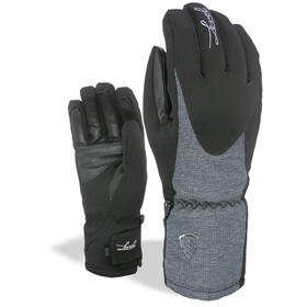 Level Alpine Gants Femme, black-grey